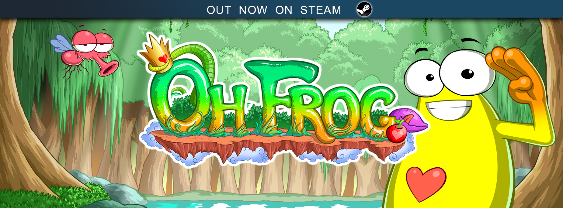 Oh Frog available today April 20th